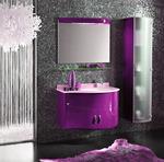 овални мебели за баня солидни