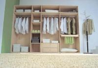 вътрешно разпределение на гардероб