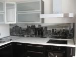 Проект на кухня с черно ПДЧ мат