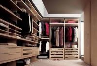 гардеробна стая по индивидуален проект