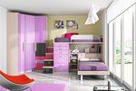 Детска стая с двуетажно легло по поръчка София