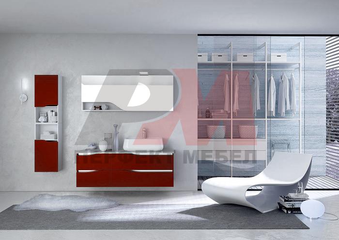 модернистични  мебели за баня от пвц