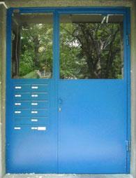 Входни врати за сгради по поръчка
