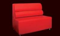 Червено канапе луксозно