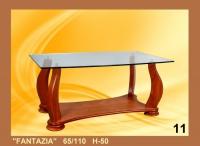 Холна маса със стъкло