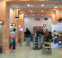 Интериор на магазини за GSM
