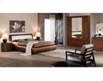 Кафява спалня по поръчка 5-2618
