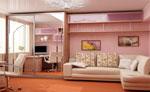 Мебели за хол по поръчка 236-2622