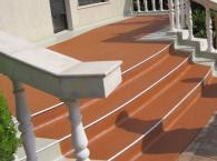 Поставяне на декоративни настилки на тераси