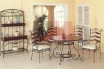 Универсален стол от ковано желязо за вътрешно и външно използване