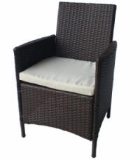 Ратанов стол с възглавница