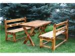 Изработка на дървени маси и столове от масивна дървесина по поръчка