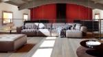 голям дизайнерски диван