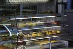 Стъклена хладилна витрина за сандвичи