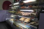 Стъклена хладилна витрина за сандвичи по поръчка