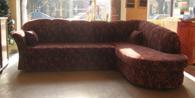 Ъглов разтегателен диван Модел No. 4