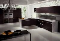 Луксозна кухня цвят венге