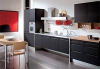 Кухни с черни шкафове