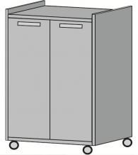 Шкаф за техника с две врати