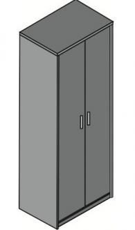 Офис гардероб 60/40/162см