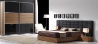 Спален комплект с легло тапицерия