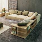 πολυτελές γωνιακό καναπέ σχεδιασμό