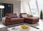 πολυτέλεια γωνία καναπέ