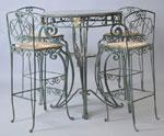 Столове за бар от ковано желязо София производител