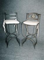 Столове от ковано желязо за барове и заведения София цена